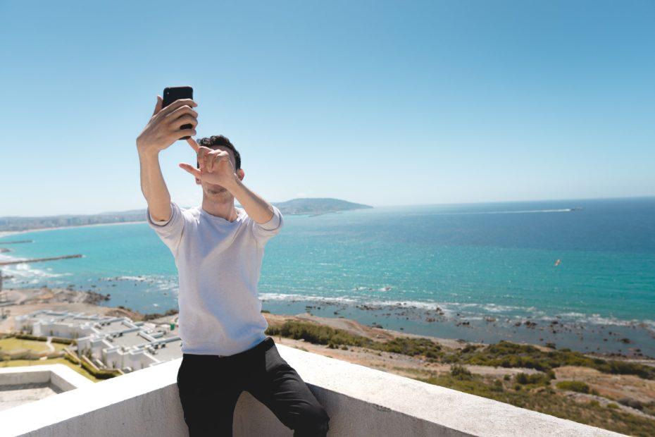 スマートフォンでゴージャスなデートプロフィールを撮る方法